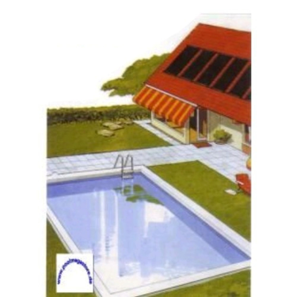 Solar Einzelabsorber 400 x 120 cm Poolheizung | Solarabsorber + Sets ...