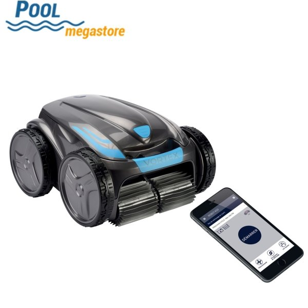 Zodiac Vortex OV 3500 Poolroboter Poolsauger mit Noppenreifen Set