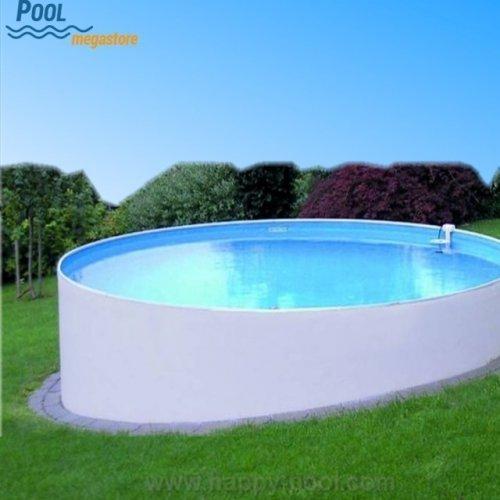 Sehr Stahlwandbecken rund 135 cm tief | Schwimmbad | Swimmingpool UO55