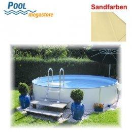 Schwimmbecken beckensets rundbecken 120 cm for Poolfolie 450x120
