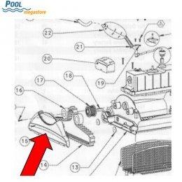 seitenteil mit flossen ersatzteile poolroboter poolsauger vollautomatische reiniger. Black Bedroom Furniture Sets. Home Design Ideas