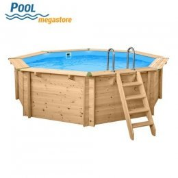 Holzpool - Set Evolution Rund 530 x 136 cm